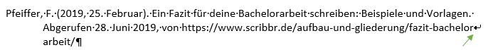 internetquellen-zitieren-URL-trennen-shift-enter