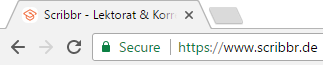 SSL sichere Internetverbindung
