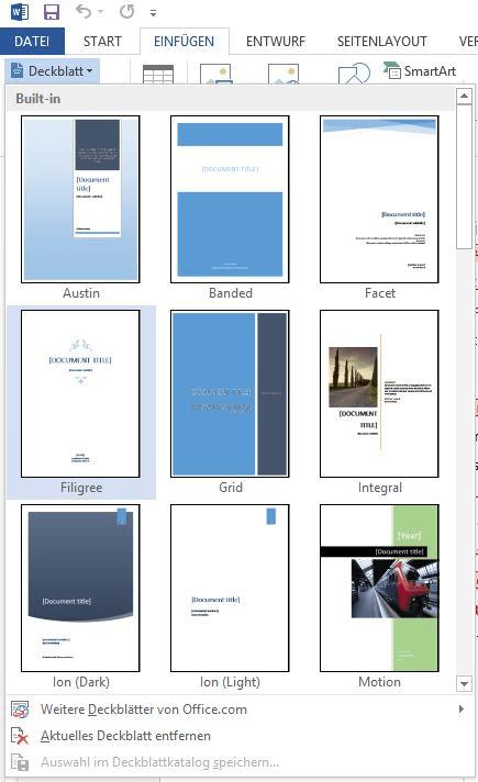 Deckblatt Deiner Bachelorarbeit - Scribbr