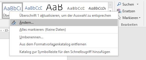 scribbr-inhaltsverzeichnis-word-formatvorlage-aendern