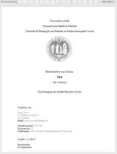 pancake thesis