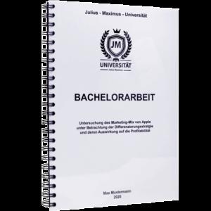 Bachelorarbeit binden Spiralbindung Metall