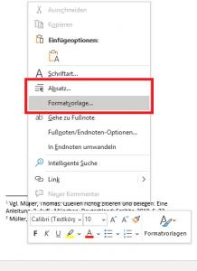 fussnote-formatvorlage